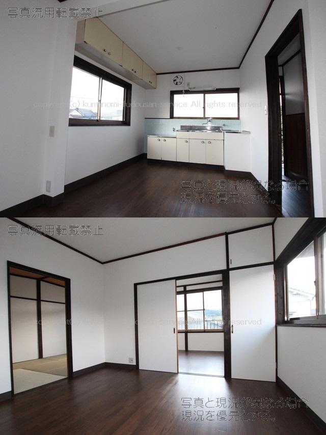 物件番号: 1025104536 コーポ北村 日田市三芳小渕町 2LDK アパート 写真4