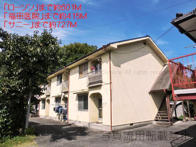 物件番号: 1025103945 ながのアパート 日田市吹上町 3DK アパート 外観写真